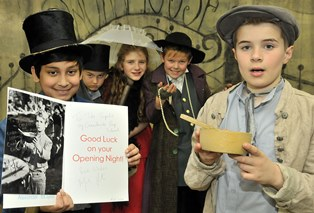 Mark Lester Sends Greenbank Actors Good Luck Message Before Oliver